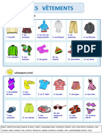 Mes vêtements dictionnaire visuel (DMP)