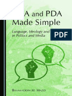 CDA and PDA Made Simple Language  Ideology and Power in Politics and Media.pdf