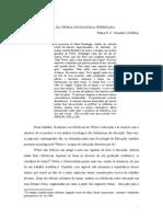 Texto - A educação á luz da teoria Sociológica Weberiana - FORMATO ORIGINAL.doc