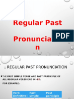 Regular Past Pronunciation.ppt