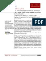 SANCHO GIL de la tecnologia para aplicar a la tecnolog para pensar