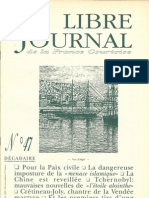 Libre Journal de la France Courtoise N°047