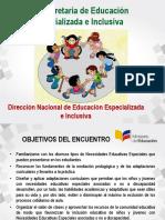 EDUCACIÓN ESPECIALIZADA EN INCLUSIÓN