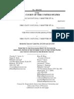 RNC v. DNC response to stay application