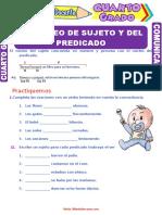 El-Núcleo-del-Sujeto-y-del-Predicado-para-Cuarto-Grado-de-Primaria