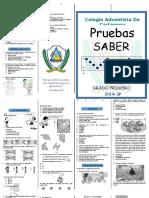 CARTILLA PRUEBA SABER PRE-JARDIN 3P2019