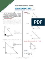 Razones Trigonometricas de Triangulos Notables Pitagoricos Ccesa007