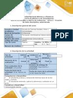 Guía de actividades y rúbrica de evaluación - Tarea 2 - Creación de texto descriptivo, autorretrato (3)