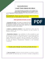 Guía de análisis literario G.9.