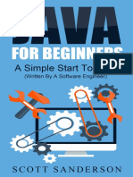 Java_ Java Programming For Beginners - A Simple Start to Java Programming