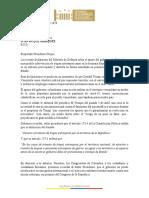 Comunicado Proridad COVID19 y No Venezuela