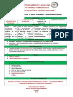 ACTIVIDAD # 3   DECIMO (TRANSFORMACION Y TIPOS DE ENERGIA)