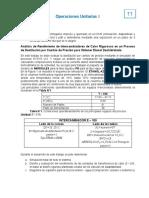 Análisis de Rendimiento de Intercambiadores de Calor Rigurosos en un Proceso de Destilación por Cambio de Presión para Obtener Etanol Deshidratado
