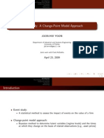 Event Study A Change Point Approach Slides