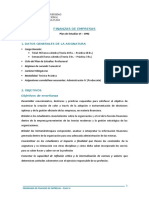Programa Finanzas de Empresas - PLAN VI