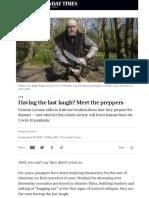 Meet the Preppers of Ireland