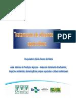 AULA 15 - TRATAMENTO DE EFLUENTES DE AQUICULTURA