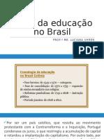 INÍCIO DA EDUCAÇÃO NO BRASIL