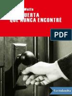 Una puerta que nunca encontre - Thomas Wolfe.pdf