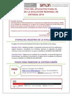 INSTRUCTIVO DEL DIRECTOR EV. REG. ENTRADA 2018