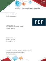 FASE 1 - PLANTEAMIENTO DEL PROBLEMA