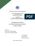 DECOLONIALIDAD EN BOLIVIA
