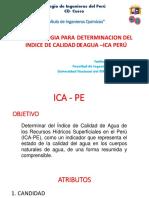 DETERMINACION DEL INDICE DE AGUA - ICA