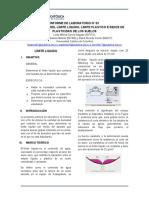 Laboratorio No. 3 Límite líquido, Límite plástico e Indice de plasticidad (2)