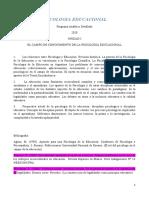 1) Psicologia Eduacacional Programa Analitico y Bibliografia 2020