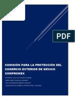 COMISIÓN PARA LA PROTECCIÓN DEL COMERCIO EXTERIOR DE MÉXICO