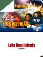 009 Eventos Finais - Leis Dominicais