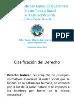 Clasificación del derecho .pptx