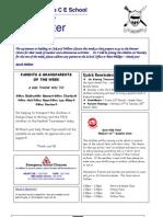 Newsletter 18 March 2010