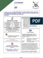 Newsletter 21 October 2009