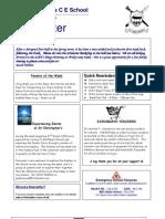 Newsletter 26 February 2010