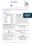 Newsletter 28 May 2010