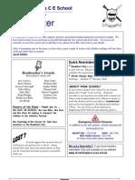 Newsletter 29 Jan 2010