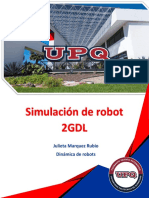 Simulacion ROBOT 2GDL