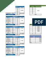 cálculos evaluacion de proyecto