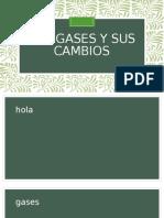 Los gases y sus cambios