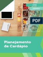 Planejamento de cardapio livro 1