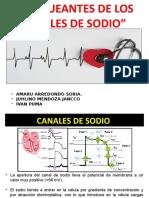 BLOQUEANTES DE LOS CANALES DE SODIO