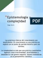 Complejidad y epistemologia