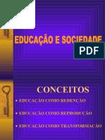 FIL EDUCA Educ Redentora Reprodutora e Transformadora