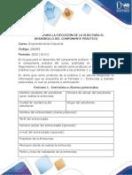 Emprendimiento Industrial - Fase 4 - Realizar el componente práctico del curso - Formato 1 - Entrevista a clientes potenciales