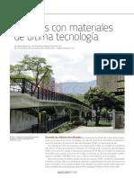 Puentes con materiales de última tecnología