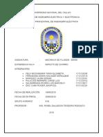 INFORME OFICIAL MECÁNICA DE FLUIDOS N°4