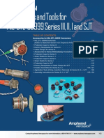 Amphenol Accessories and Tools for MIL-DTL-38999 Series III, II, I and SJT.pdf