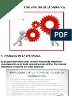 10 ENFOQUES DEL ANALISIS DE LA OPERACION II