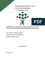 UNIVERSIDAD PRIVADA DOMINGO SAVIO HIDRAULICA II (1)